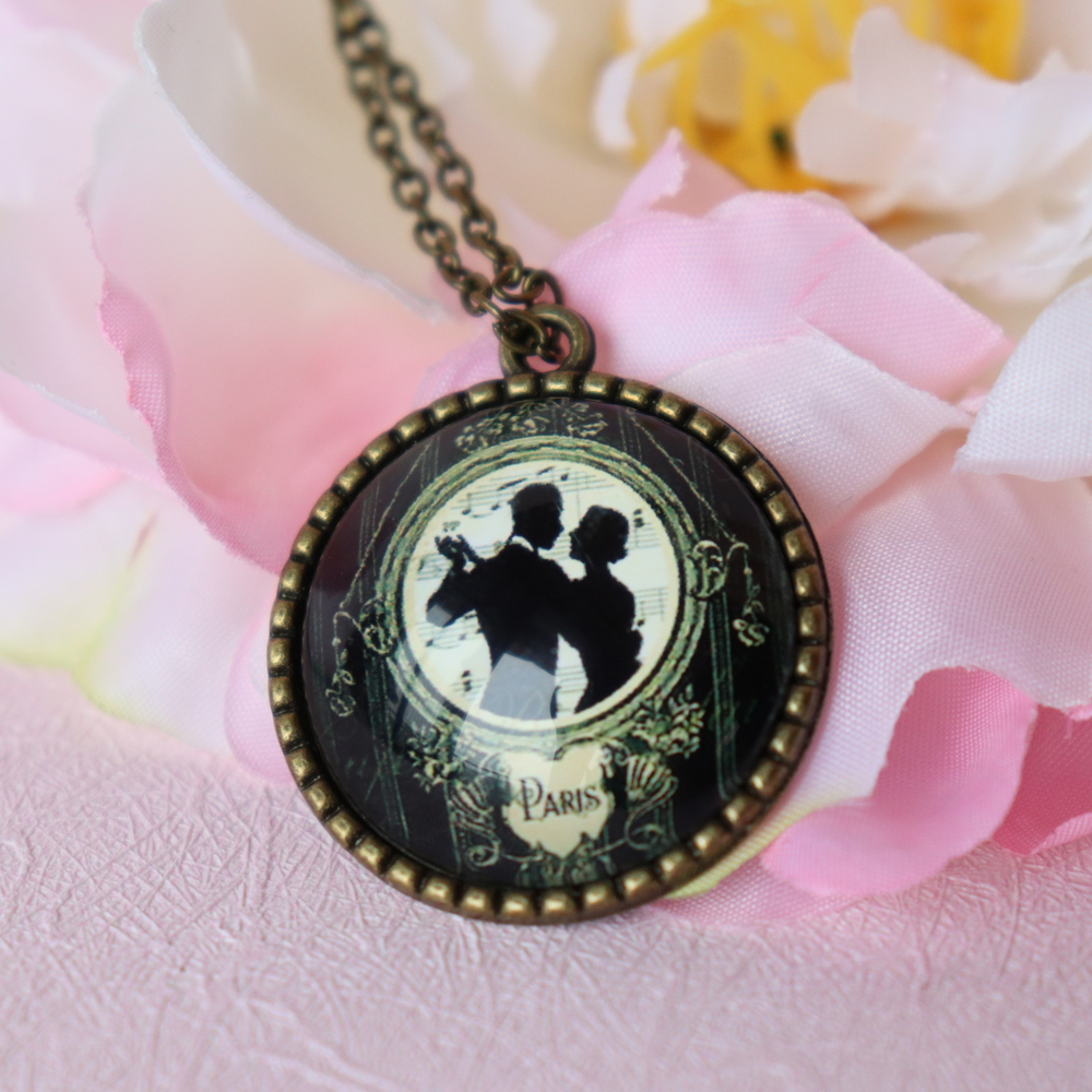 product necklace products pendant romantic bomros rhinestone heart com image collections